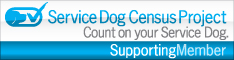 Service Dog Census Project Supporting Member